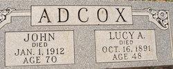 Lucy Ann <i>Dunagan</i> Adcox