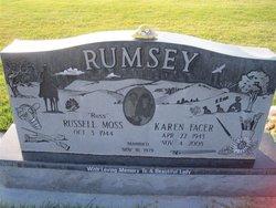 Karen <i>Facer</i> Rumsey