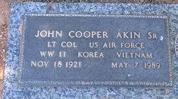 John Cooper Akin, Sr