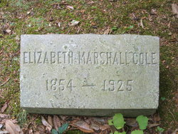 Elizabeth Marshall <i>Jones</i> Cole