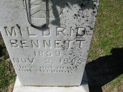 Lamanda Mildred <i>Murray</i> Bennett