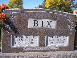 Betty Larraine <i>Hughes</i> Bix