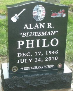 Alan Robert Bluesman Philo