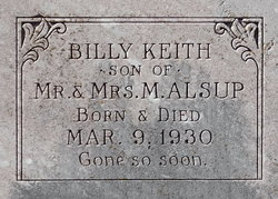 Billy Keith Alsup