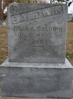 Julia A. <i>Barnes</i> Baldwin