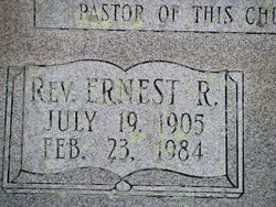 Rev Ernest Russell Bartlett
