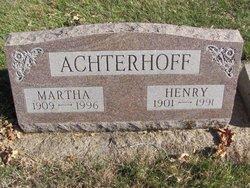 Martha <i>Elzenga</i> Achterhoff