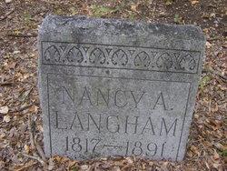Nancy Ann <i>Saunders</i> Langham