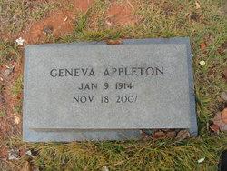 Geneva E <i>McCleskey</i> Appleton