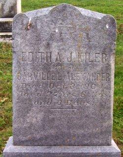 Edith Amelia J. <i>Kiler</i> Alexander