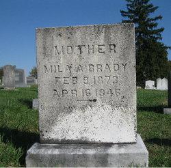Mila Almedia <i>Cox</i> Brady