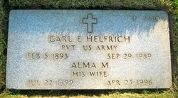 Alma Mary <i>Nacke</i> Helfrich