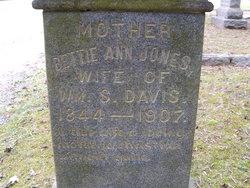 Bettie Ann <i>Jones</i> Davis