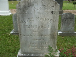 Alice Harvey <i>Tannahill</i> Jones