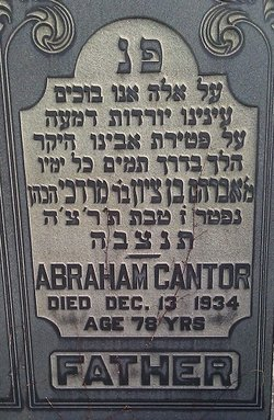 Abraham Cantor