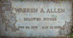 Warren Albert Allen