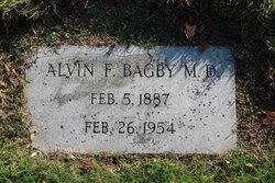 Dr Alvin Fleet Bagby