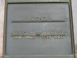 Eunice Matilda <i>Brown</i> Mitchell