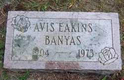 Avis <i>Eakins</i> Banyas