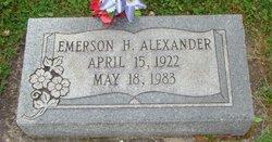 Emerson H Alexander