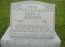Ralph M Alexander
