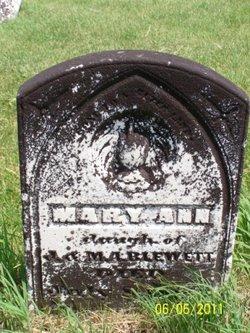 Mary Ann Blewett
