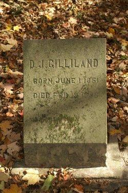 D. J. Gilliland