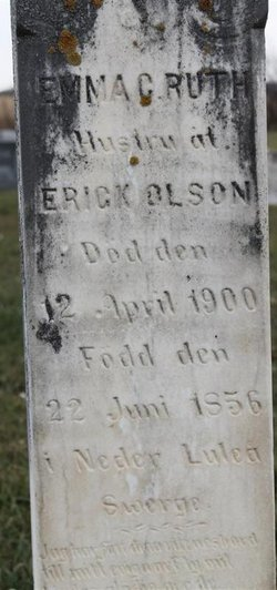 Emma C Ruth Olson