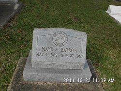 Willie Maye <i>Veach</i> Batson
