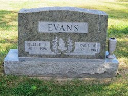 Nellie L <i>Clapp</i> Evans
