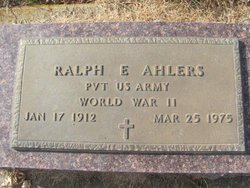 Ralph E Ahlers