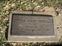 Donald F Peterman