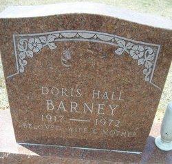 Doris <i>Hall</i> Barney