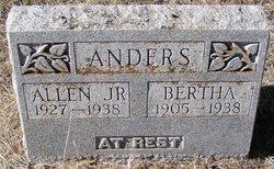 Bertha Beatrice <i>Williams</i> Anders