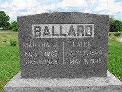 Martha J. <i>Freel</i> Ballard