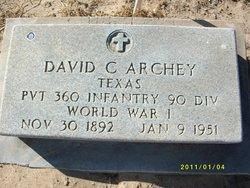 David Chester Archey