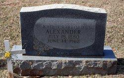 Kate <i>Crawford</i> Alexander