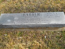 Mary E. P. <i>McAlister</i> Barber
