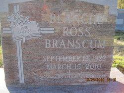 Blanche <i>Ross</i> Branscum