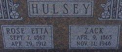 Rose Etta <i>Rigsby</i> Hulsey