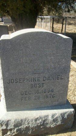 Josephine Josie <i>Daniel</i> Bost