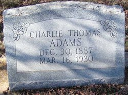 Charlie Thomas Adams