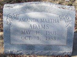 Amanda Martha <i>Sherrod</i> Adams
