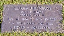 Lieut Alfred Joseph Al Demeusy