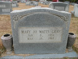 Mary Jo <i>Watts</i> Gray