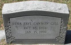 Rena Faye <i>Cannon</i> Gill