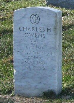 Charles H Owens