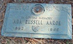 Ada <i>Russell</i> Aaron