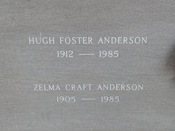 Zelma <i>Craft</i> Anderson