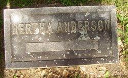 Bertha <i>Wannegar</i> Anderson